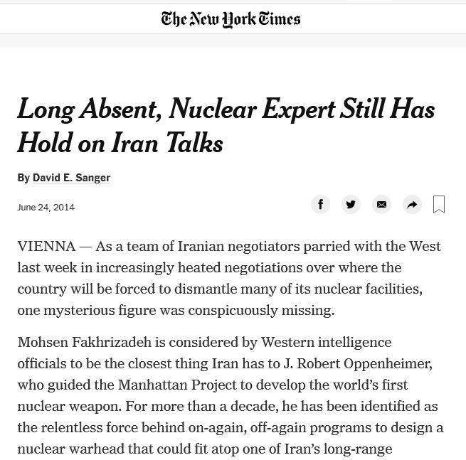 2475 با شهید محسن فخری زاده بیشتر آشنا شوید/دلیل ترور دانشمند هسته ای کشورمان چه بود ؟