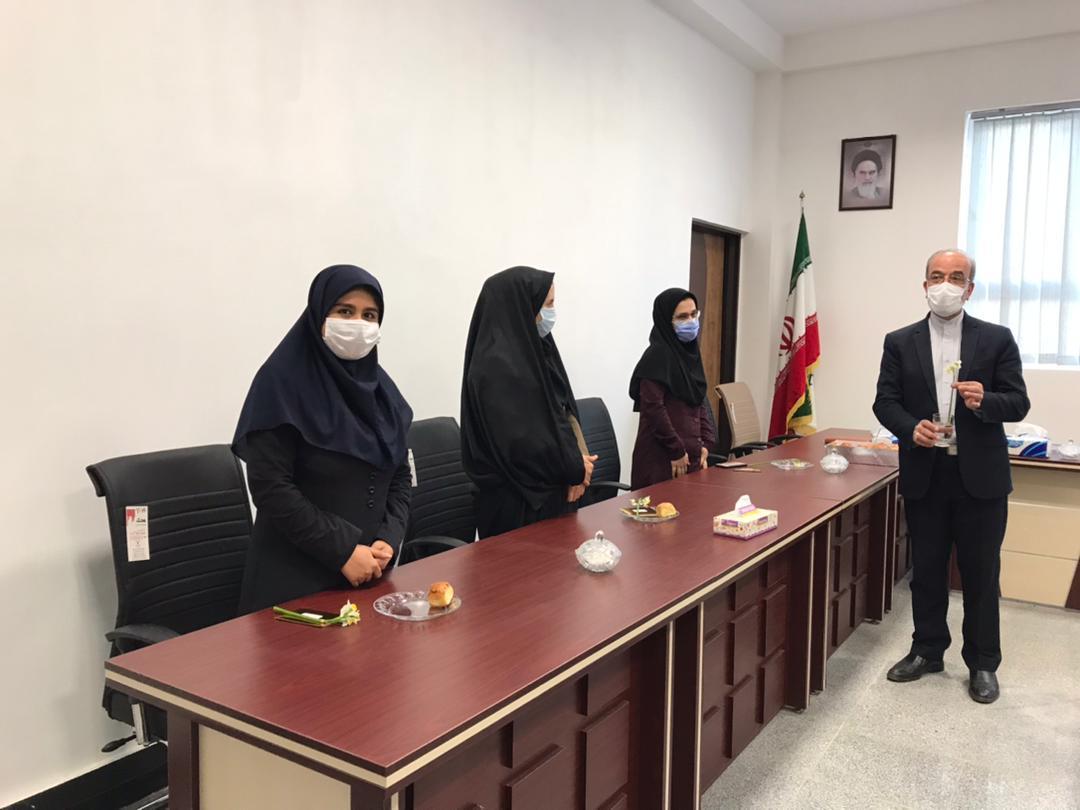 5 مراسم تجلیل از همکاران خانم موسسه به مناسبت گرامیداشت روز زن